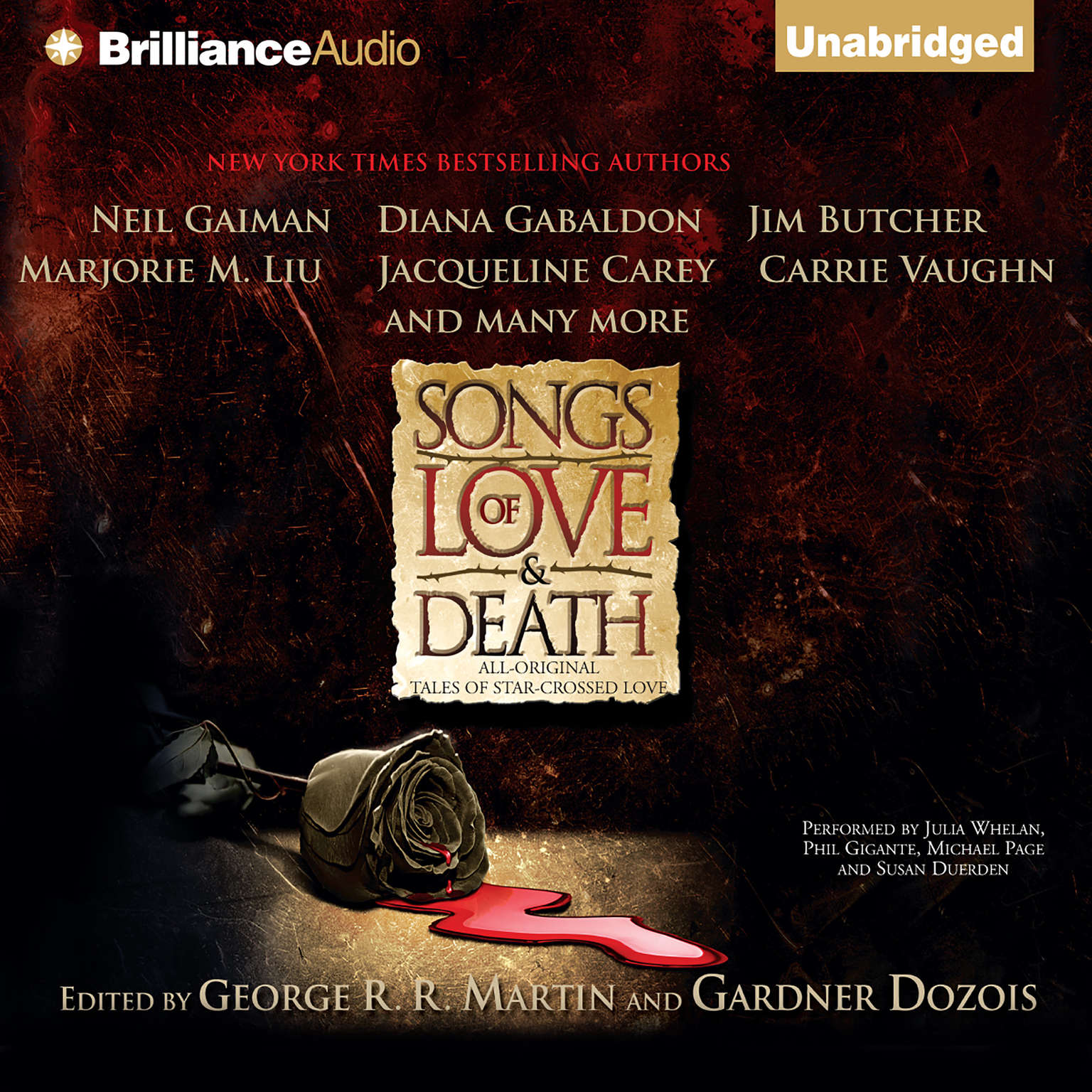 Printable Songs of Love and Death: All-Original Tales of Star-Crossed Love Audiobook Cover Art