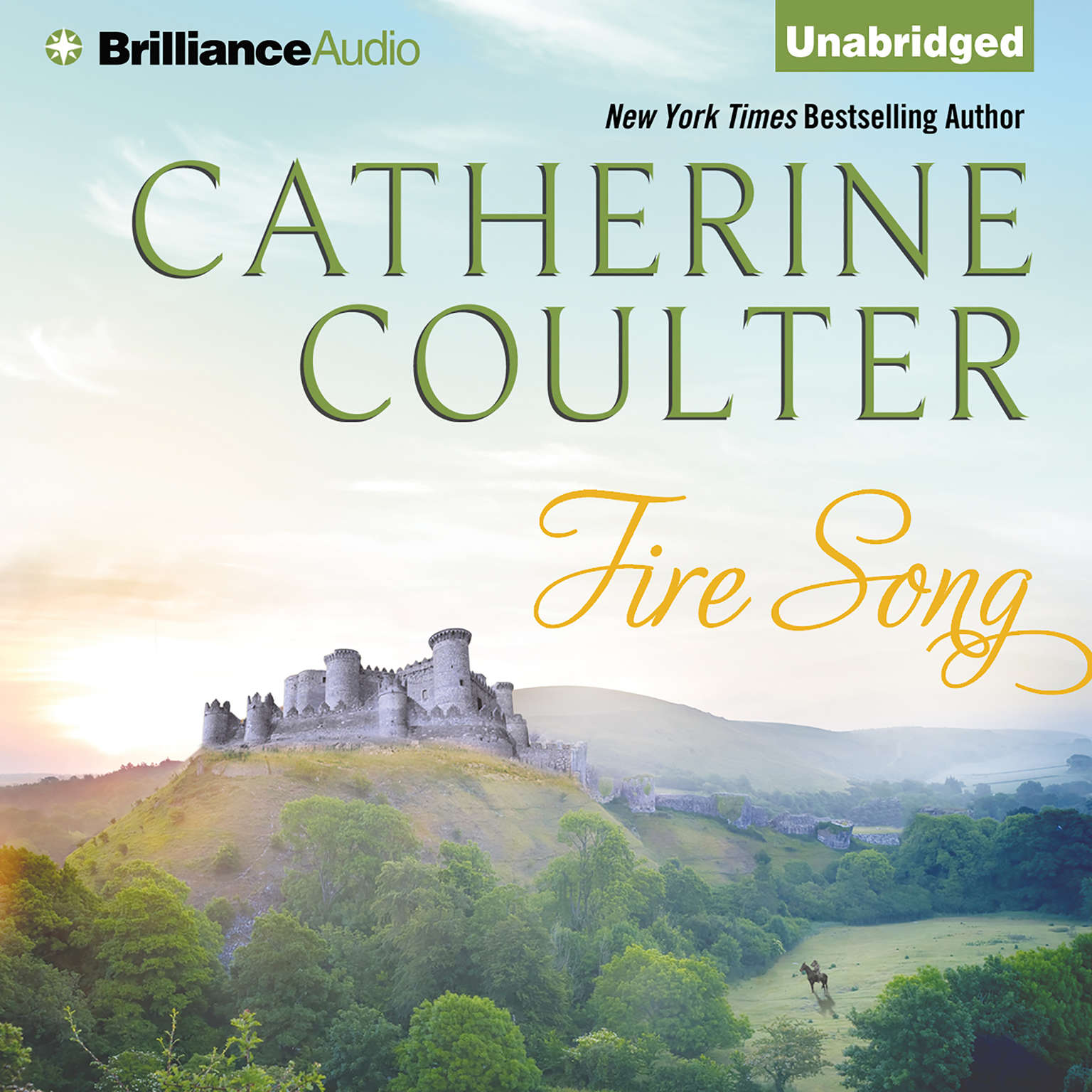 Printable Fire Song Audiobook Cover Art