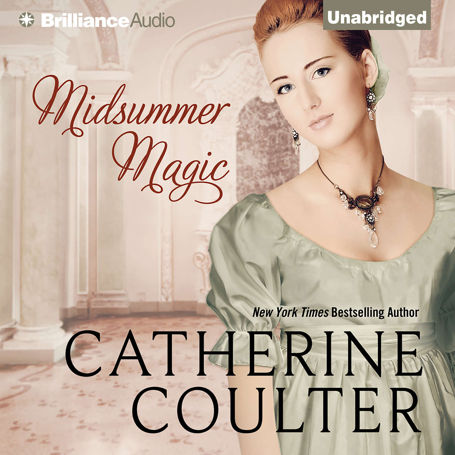 Printable Midsummer Magic Audiobook Cover Art