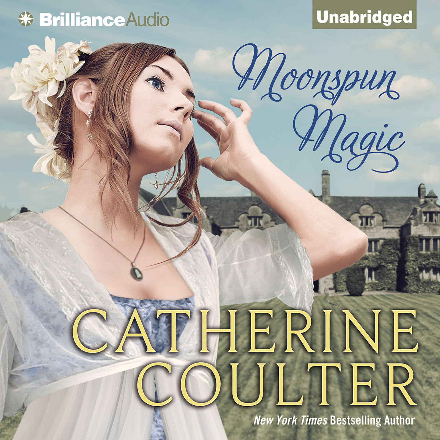 Printable Moonspun Magic Audiobook Cover Art