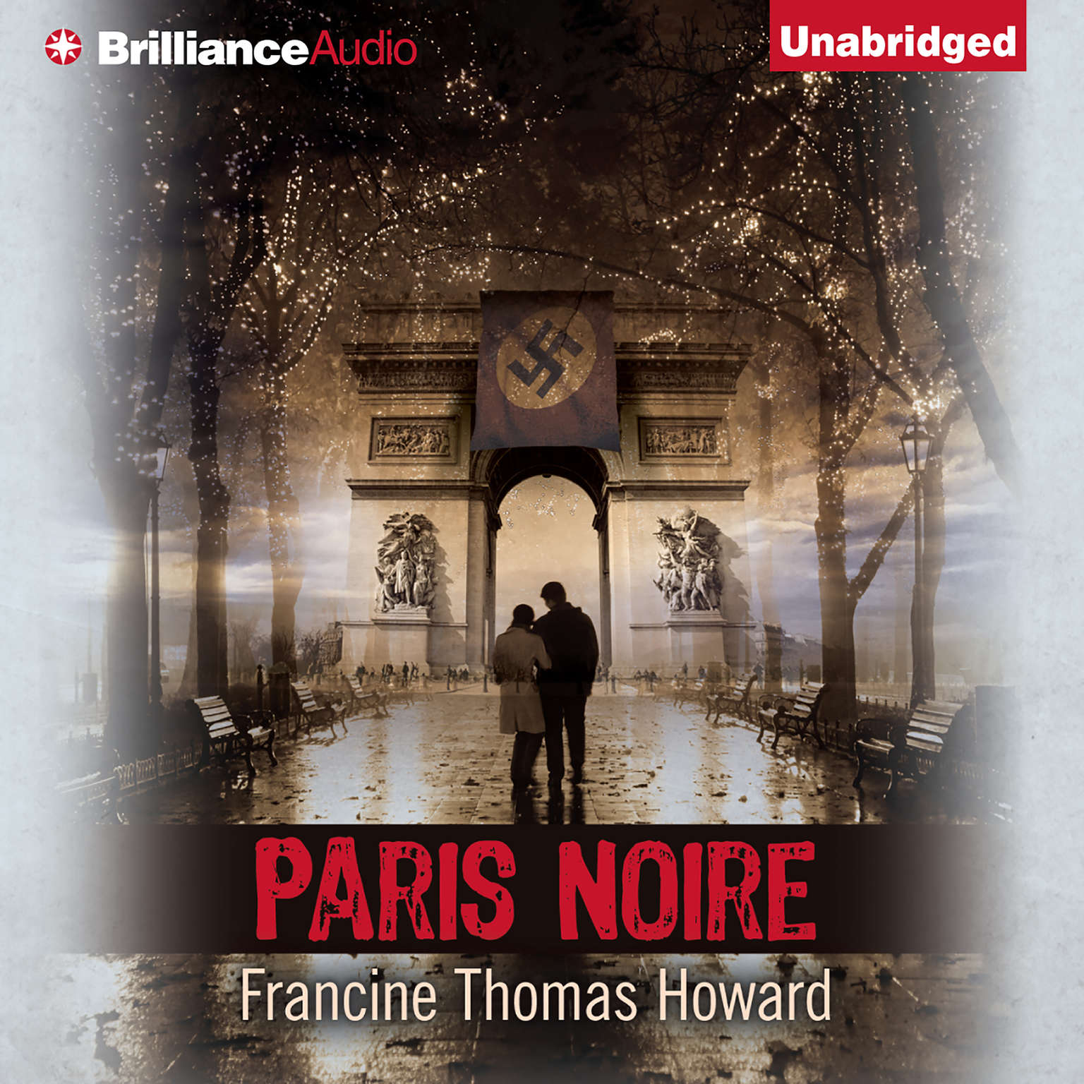 Printable Paris Noire Audiobook Cover Art