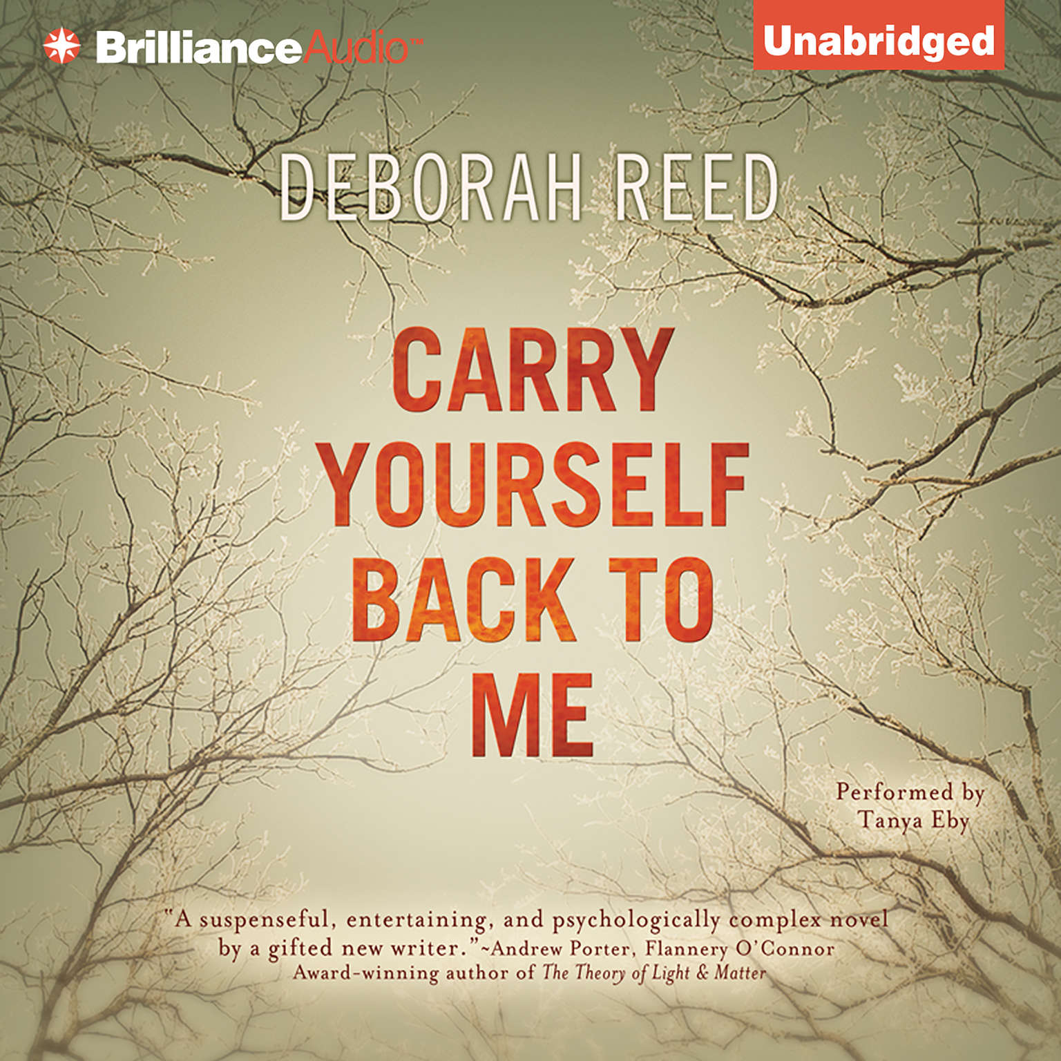 Printable Carry Yourself Back to Me Audiobook Cover Art
