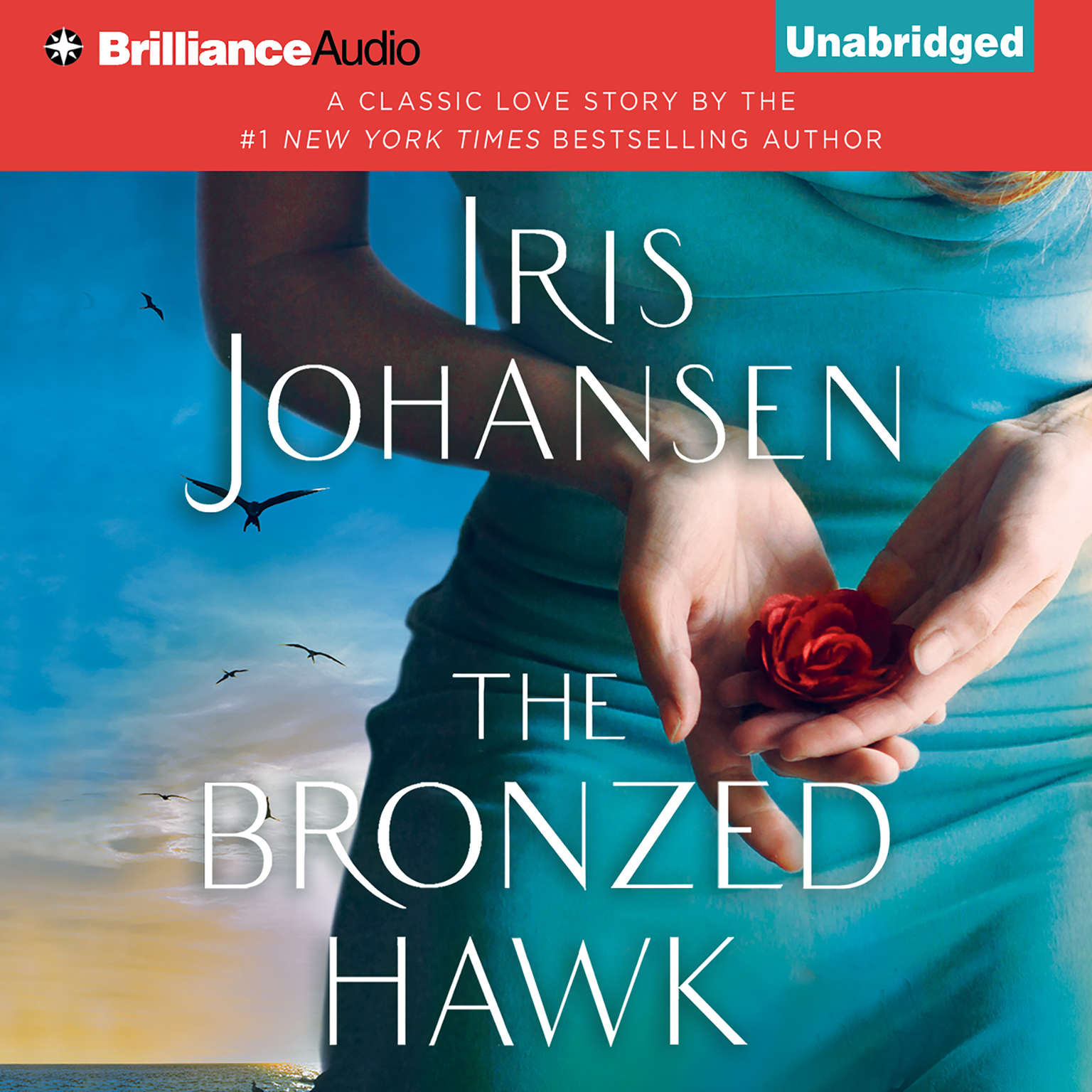 Printable The Bronzed Hawk Audiobook Cover Art