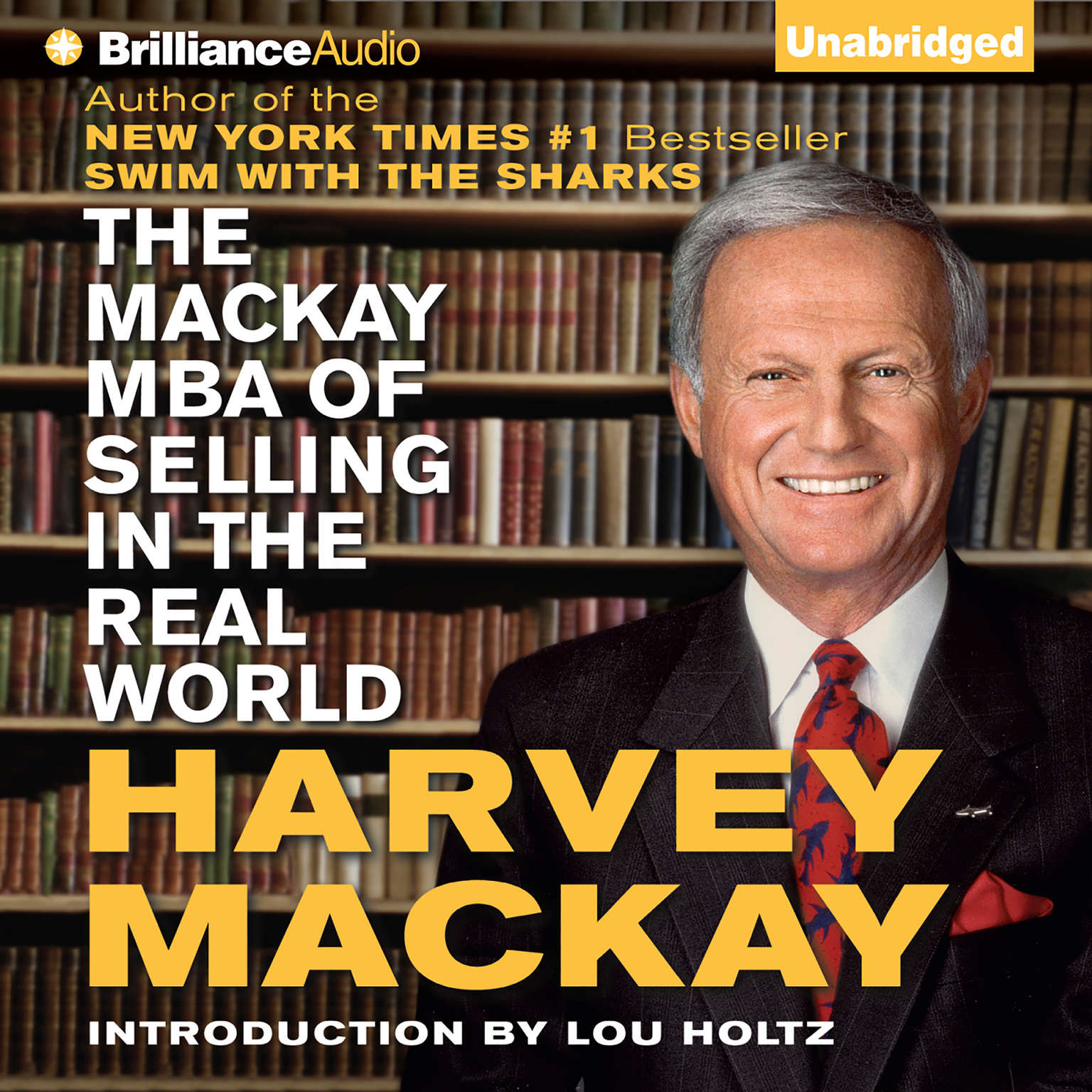Printable The Mackay MBA of Selling in The Real World Audiobook Cover Art