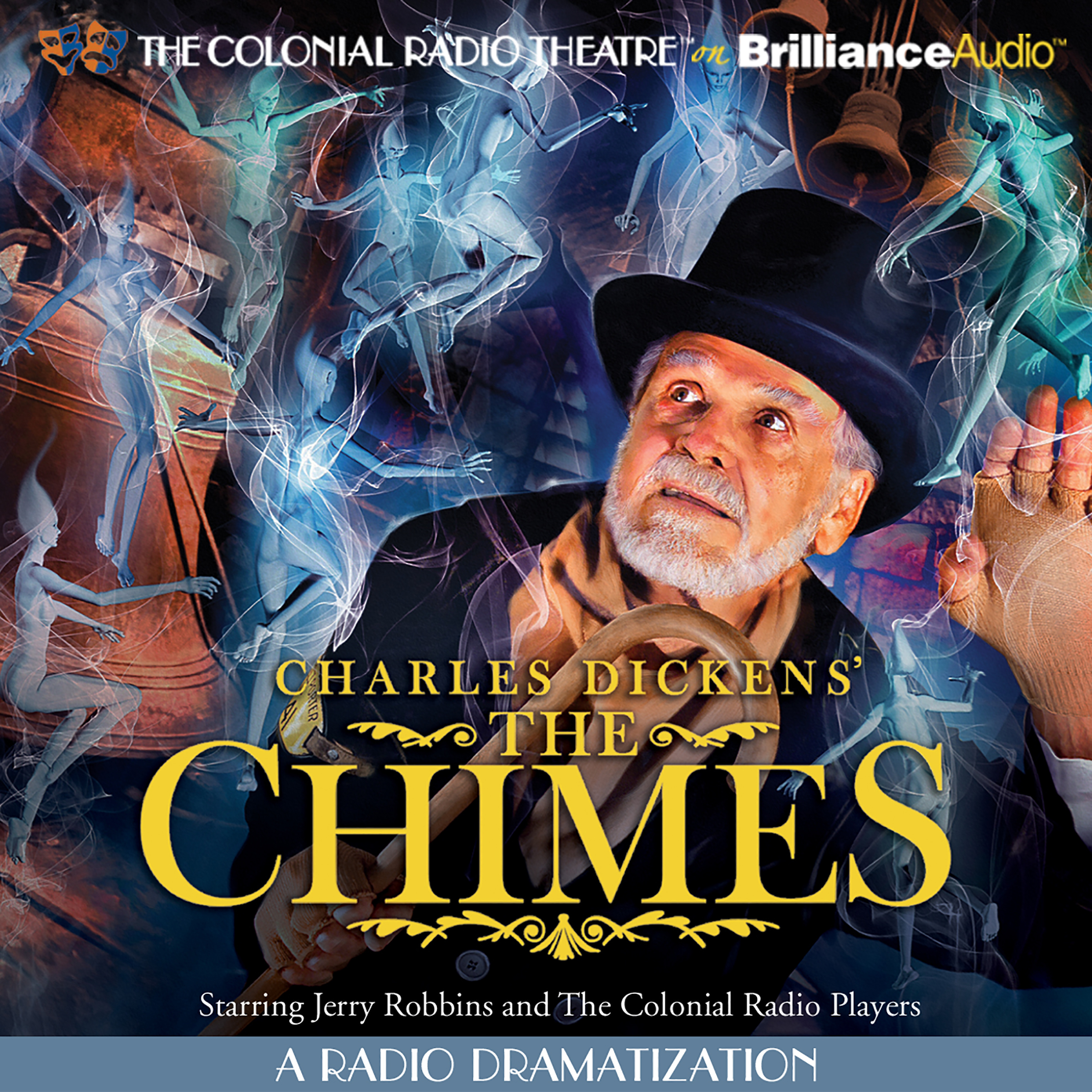 Printable Charles Dickens' The Chimes: A Radio Dramatization Audiobook Cover Art