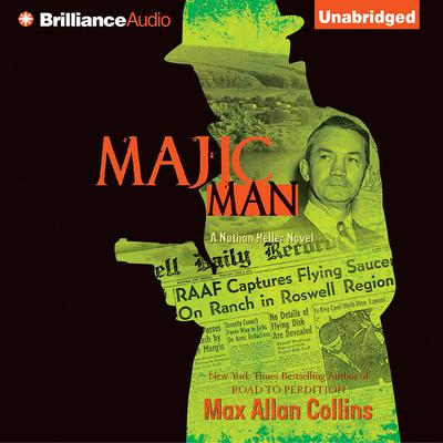 Majic Man Audiobook, by Max Allan Collins
