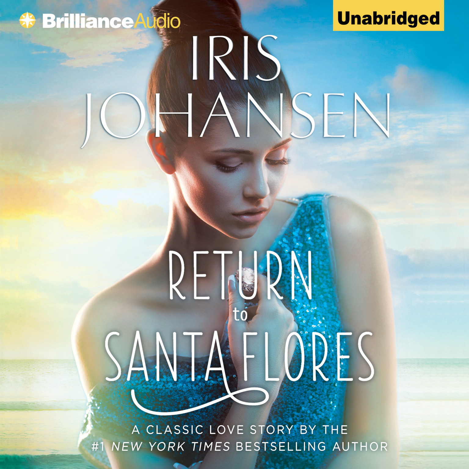 Printable Return to Santa Flores Audiobook Cover Art