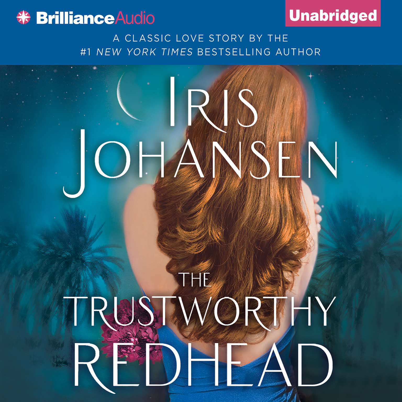 Printable The Trustworthy Redhead Audiobook Cover Art