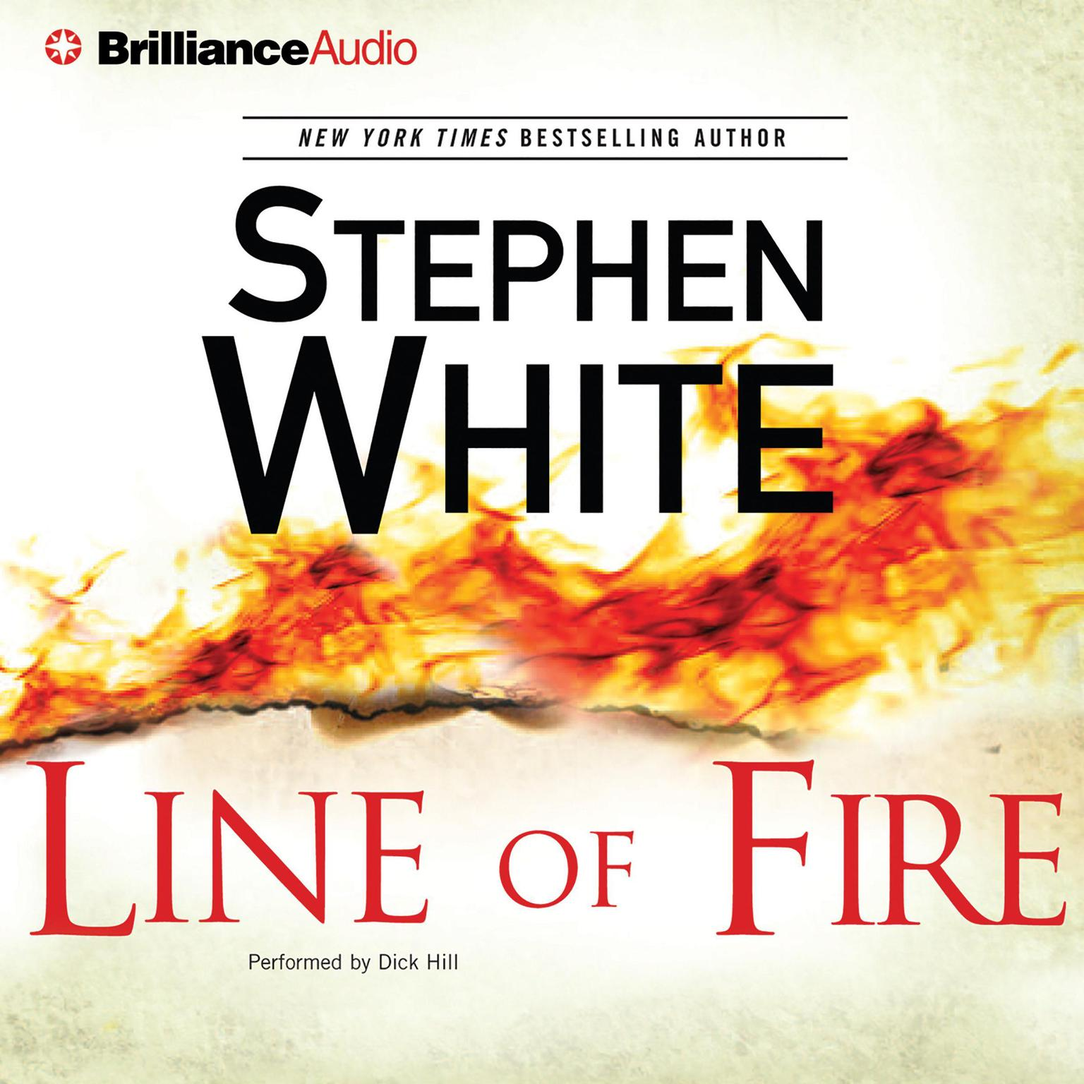 Printable Line of Fire (Abridged) Audiobook Cover Art