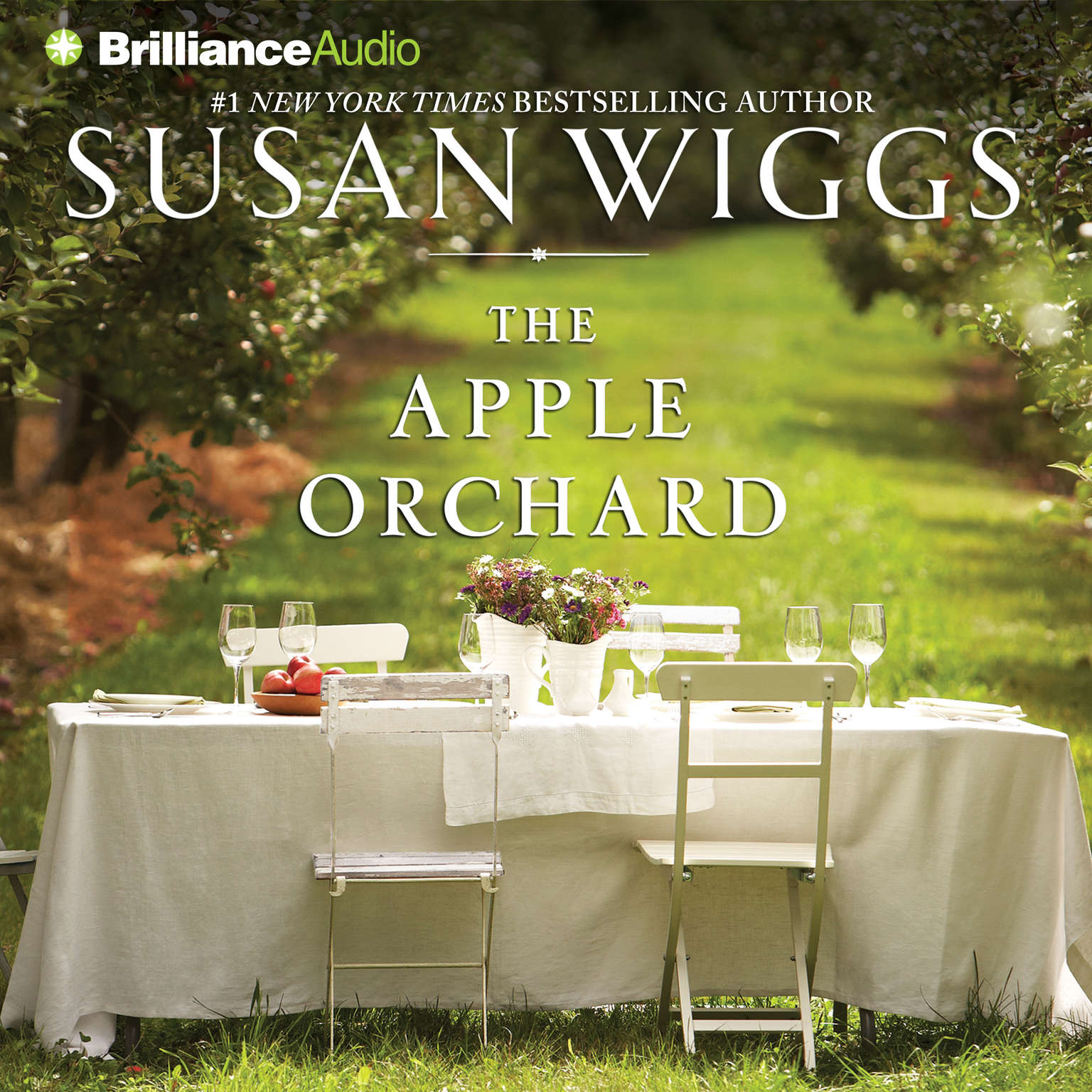 Printable The Apple Orchard Audiobook Cover Art