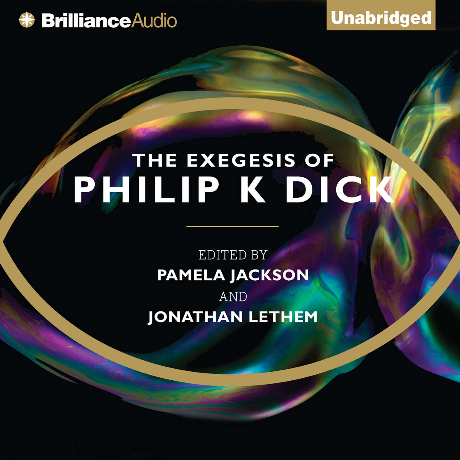 Printable The Exegesis of Philip K. Dick Audiobook Cover Art