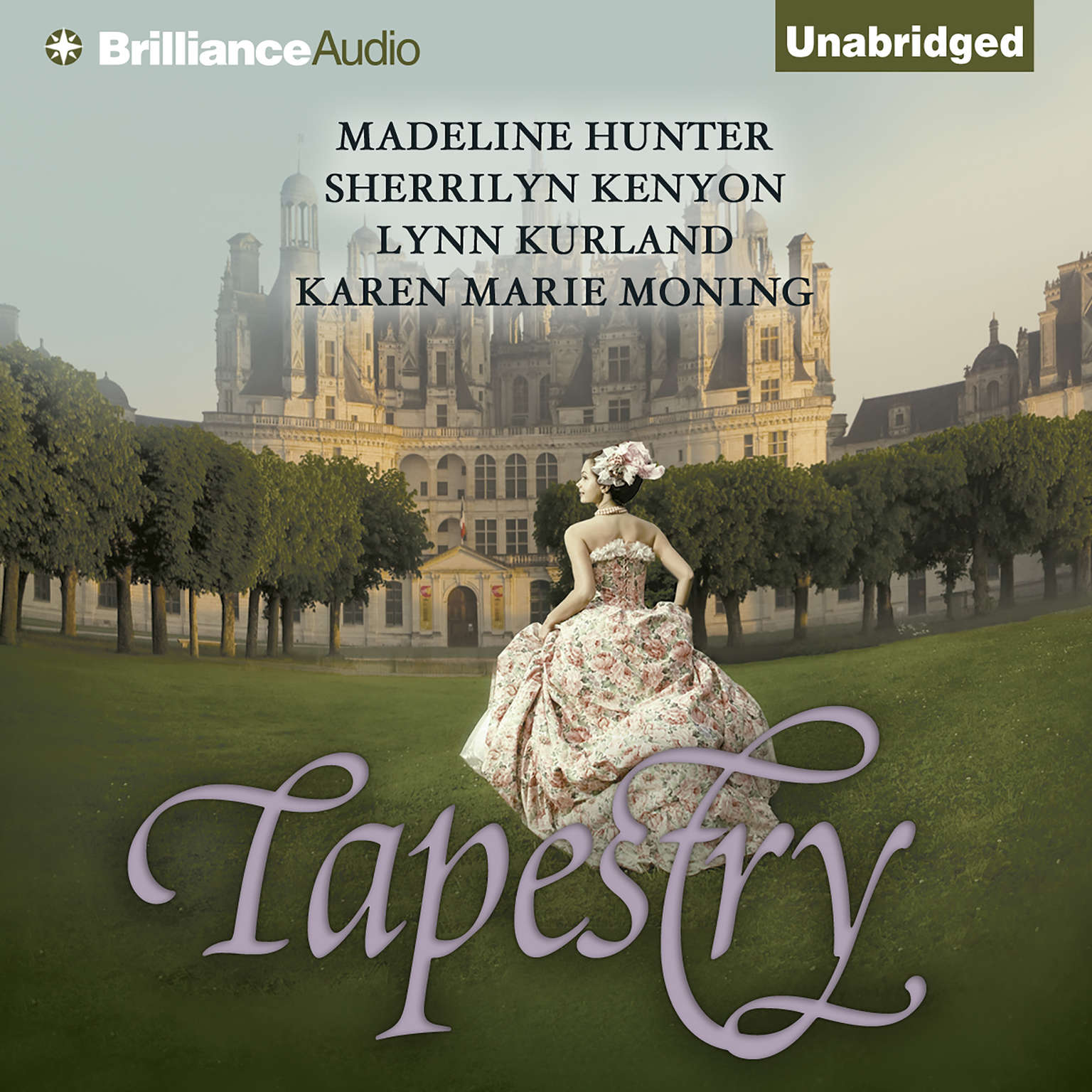 Printable Tapestry Audiobook Cover Art