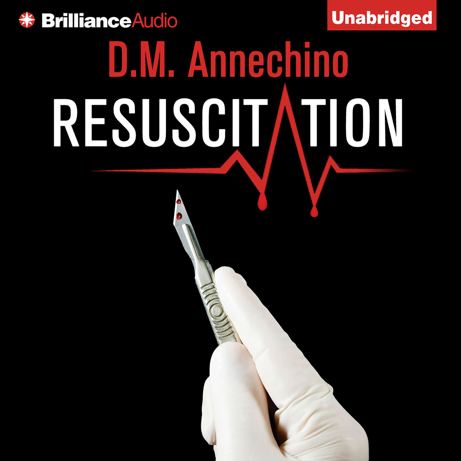 Printable Resuscitation Audiobook Cover Art