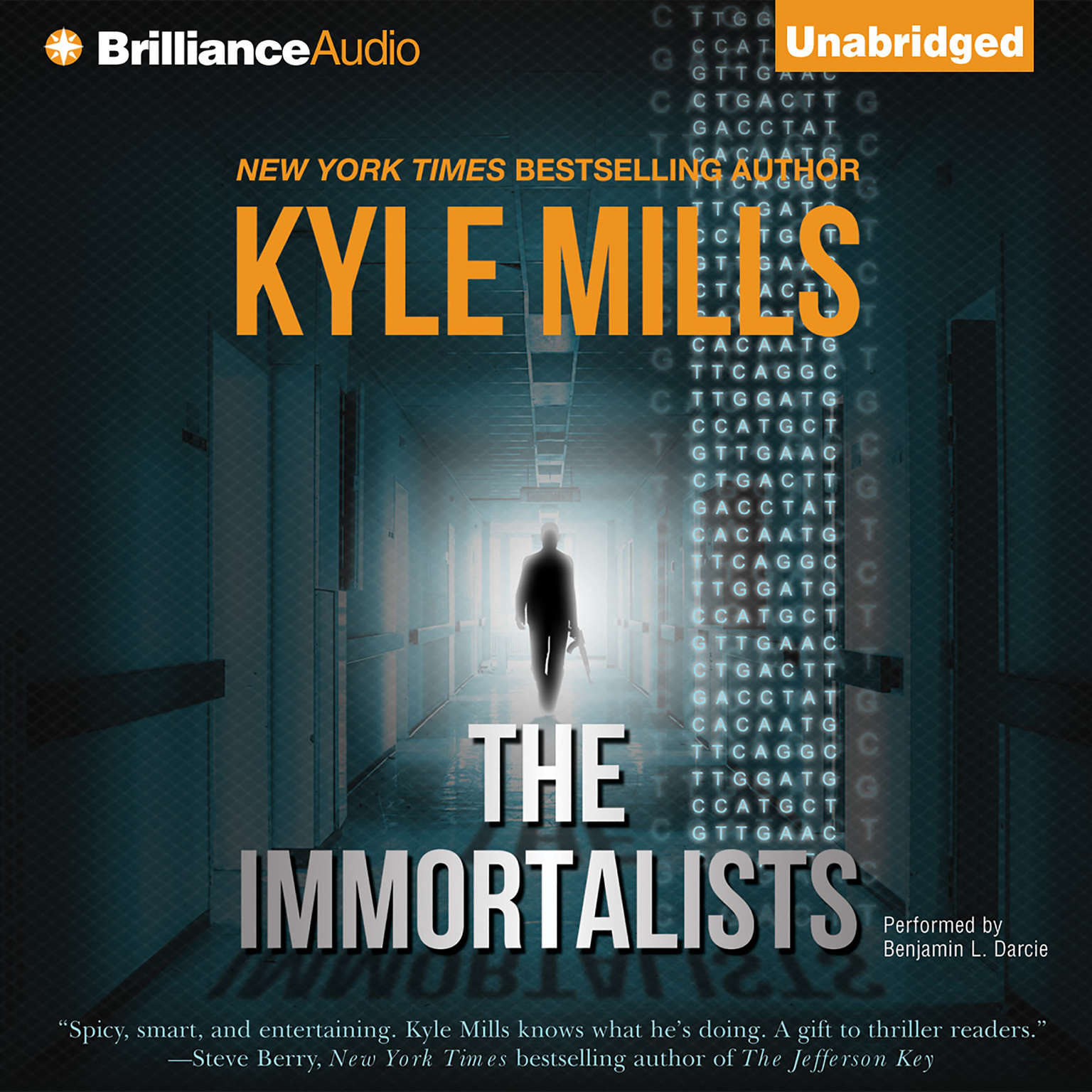 Printable The Immortalists Audiobook Cover Art