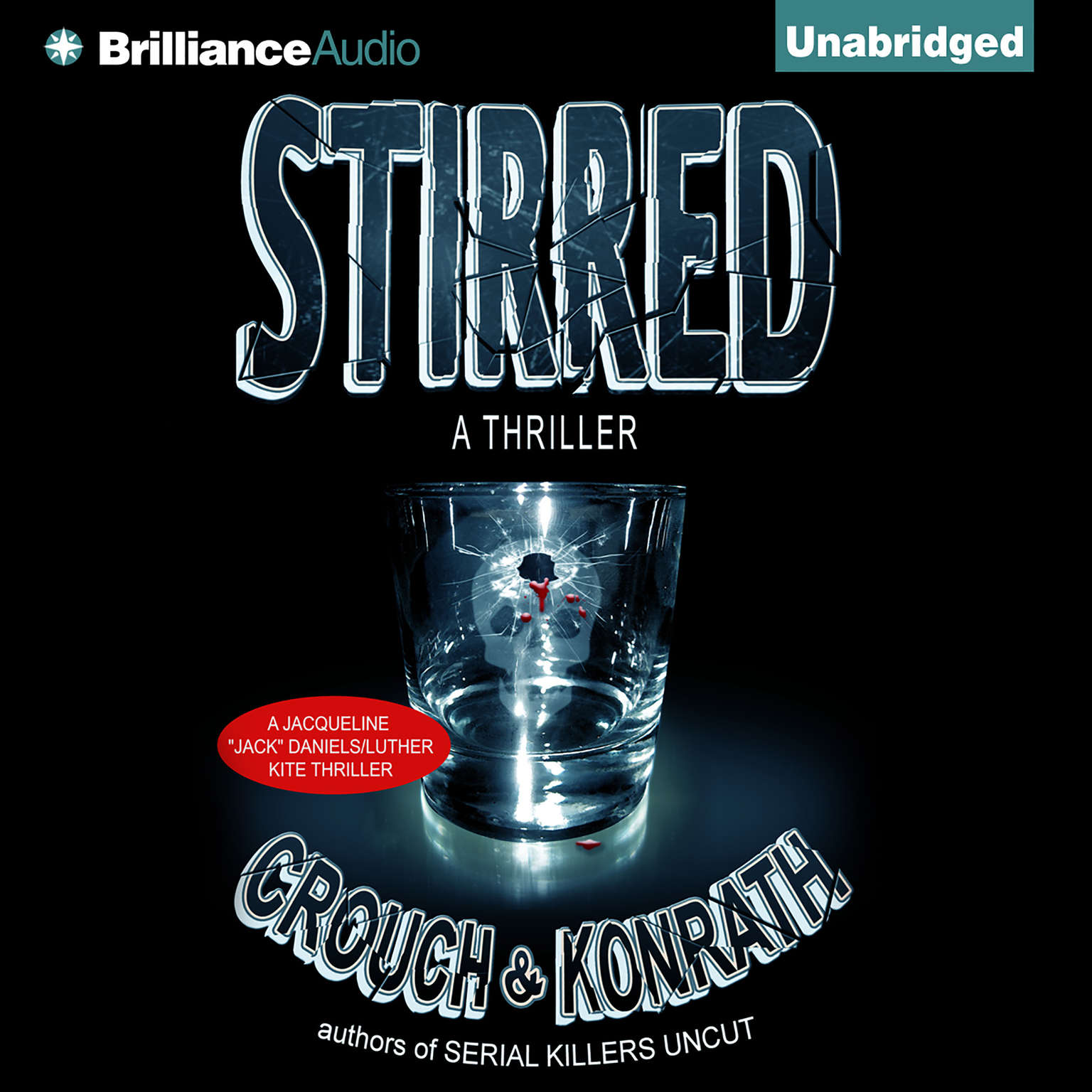 Printable Stirred Audiobook Cover Art