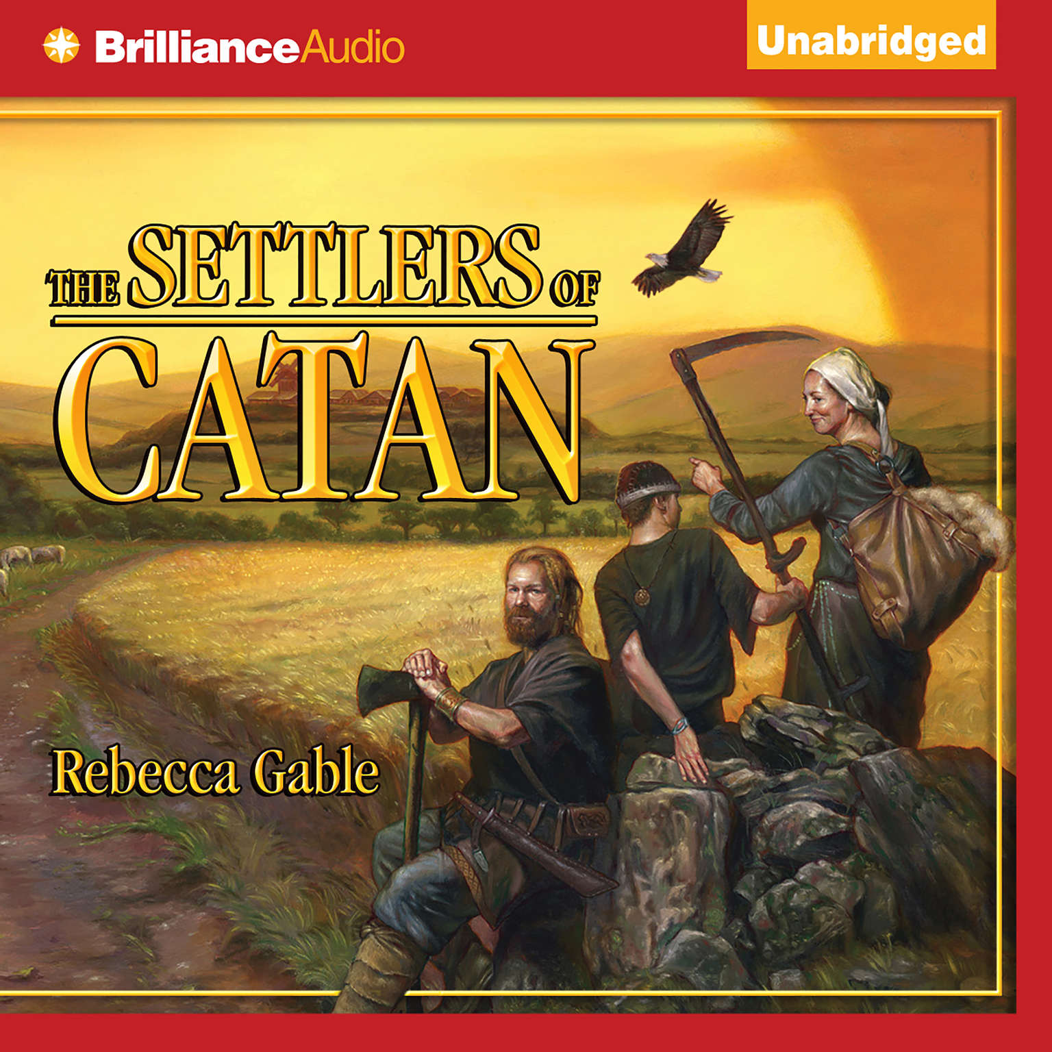 Printable The Settlers of Catan Audiobook Cover Art