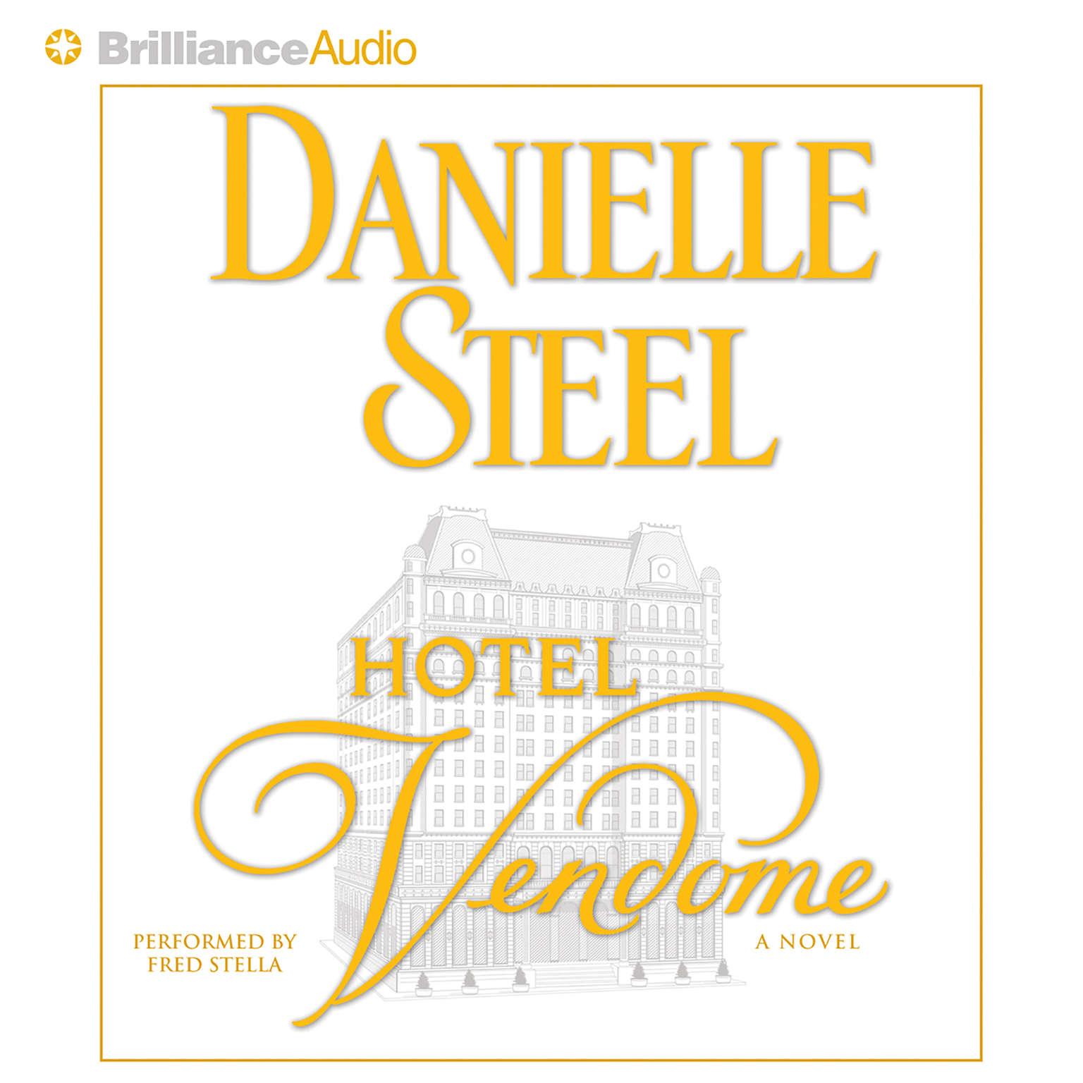 Printable Hotel Vendome Audiobook Cover Art
