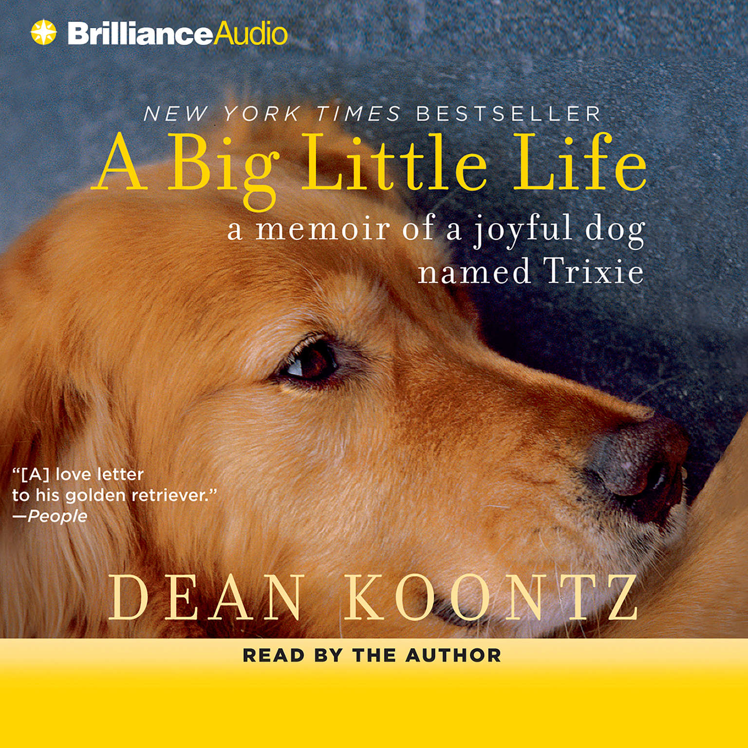Printable A Big Little Life: A Memoir of a Joyful Dog Named Trixie Audiobook Cover Art
