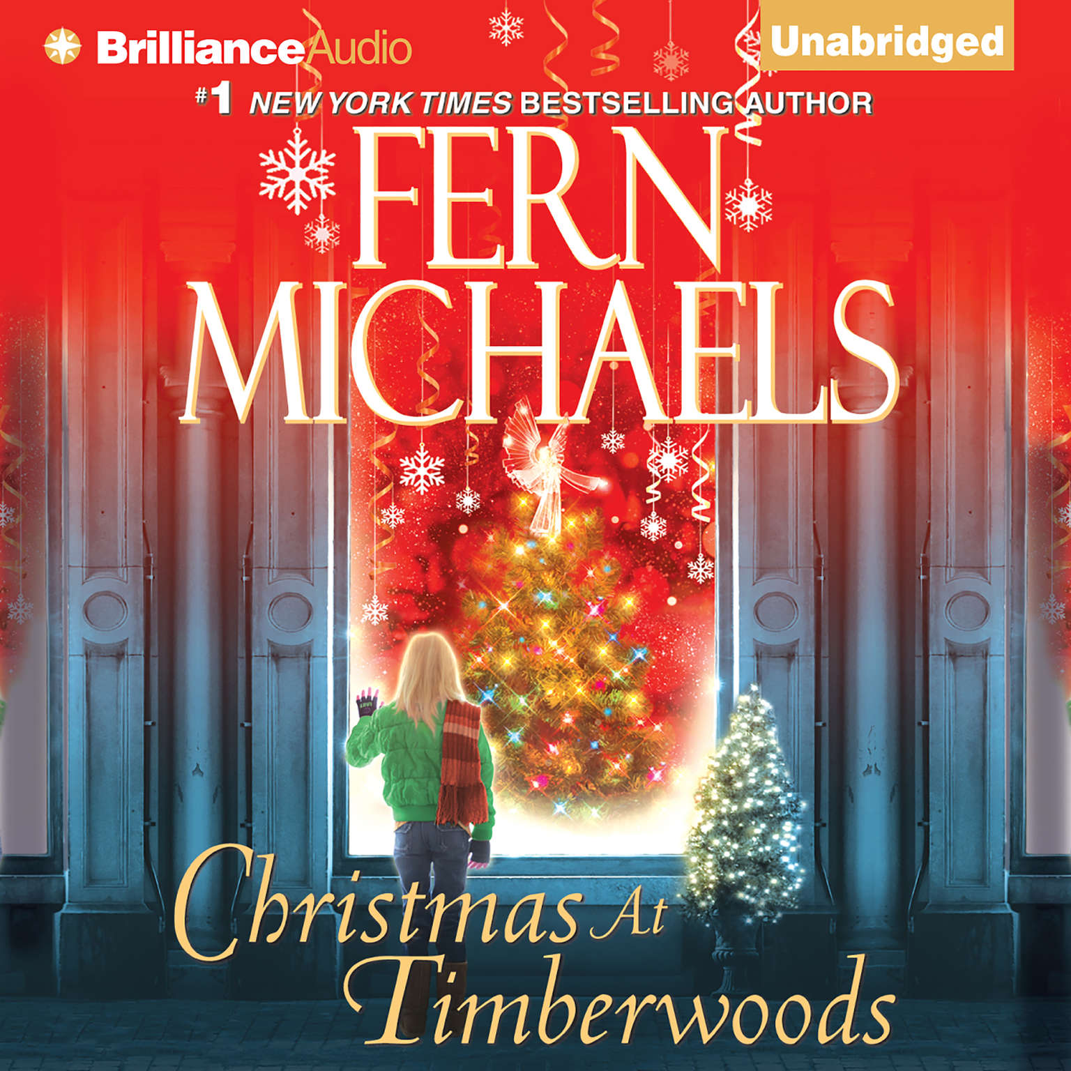 Printable Christmas at Timberwoods Audiobook Cover Art