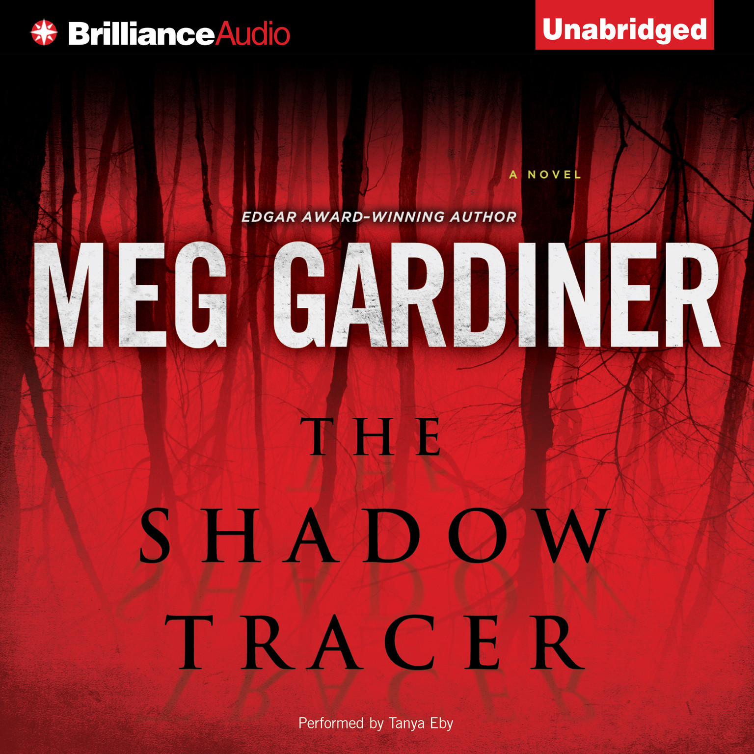 Printable The Shadow Tracer Audiobook Cover Art