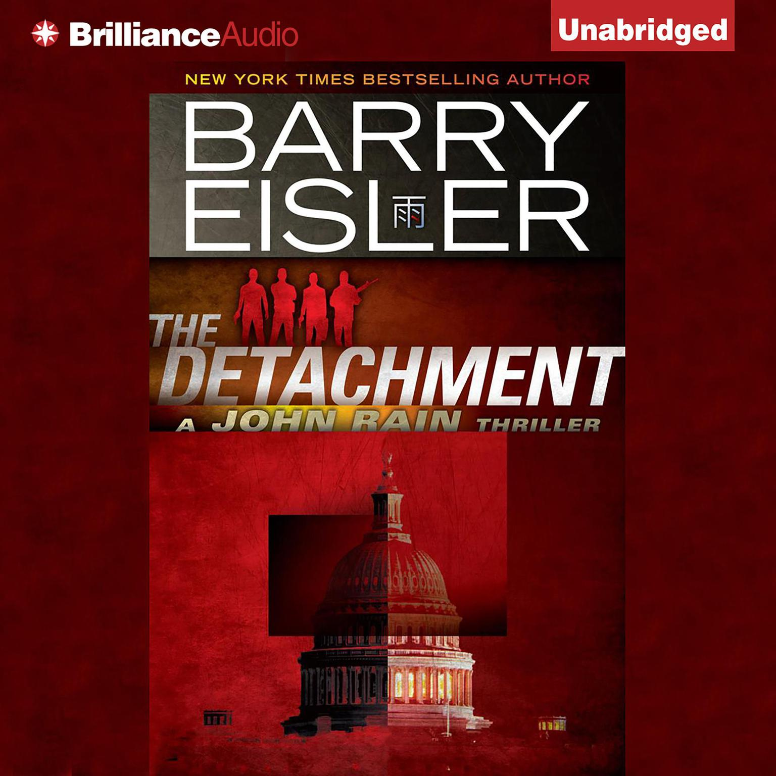 Printable The Detachment Audiobook Cover Art