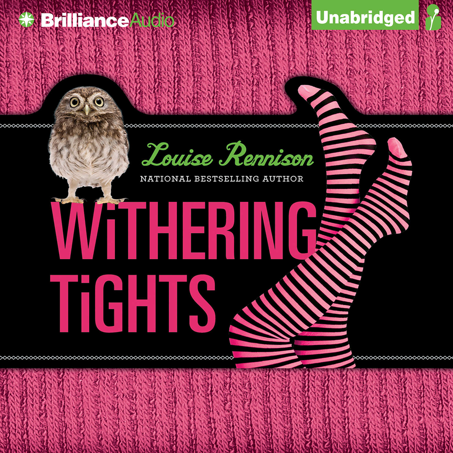 Printable Withering Tights: The Misadventures of Tallulah Casey Audiobook Cover Art