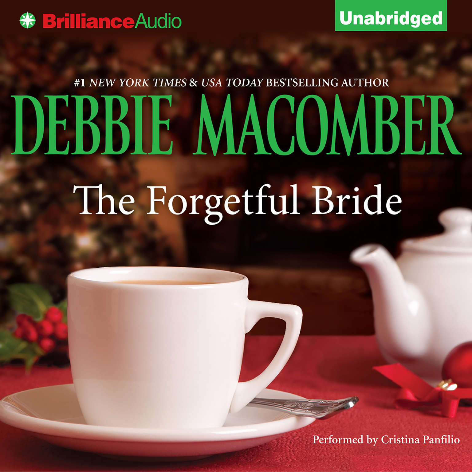 Printable The Forgetful Bride Audiobook Cover Art