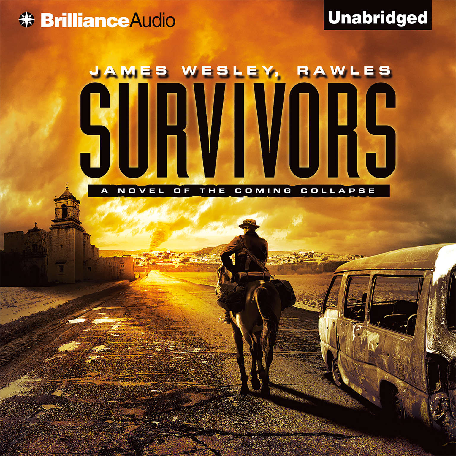 Printable Survivors: A Novel of the Coming Collapse Audiobook Cover Art