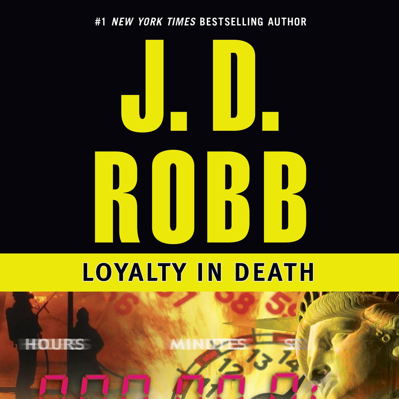 Printable Loyalty in Death Audiobook Cover Art