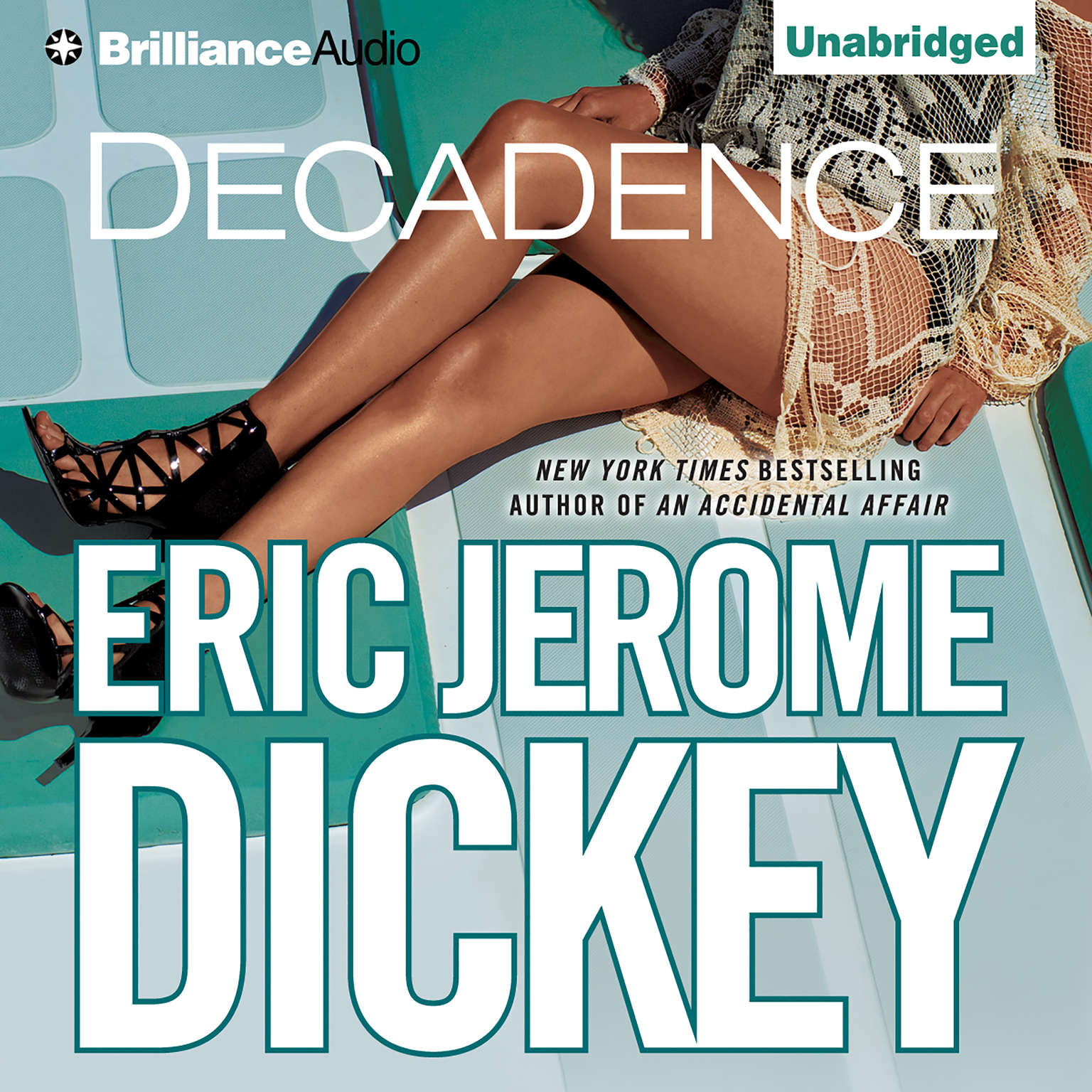 Printable Decadence Audiobook Cover Art