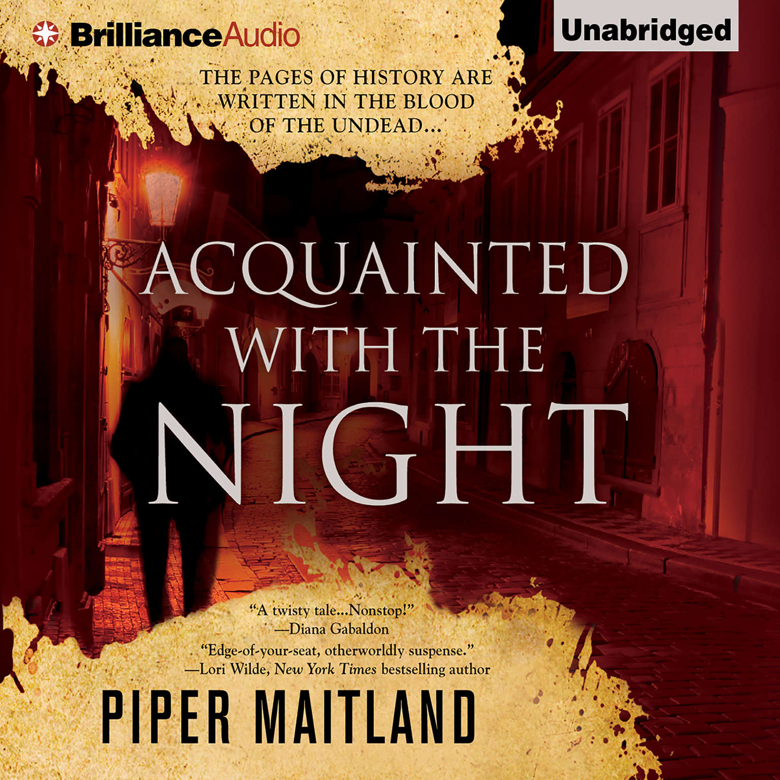 Printable Acquainted With the Night Audiobook Cover Art