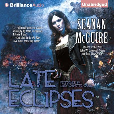 Late Eclipses: An October Daye Novel Audiobook, by Seanan McGuire