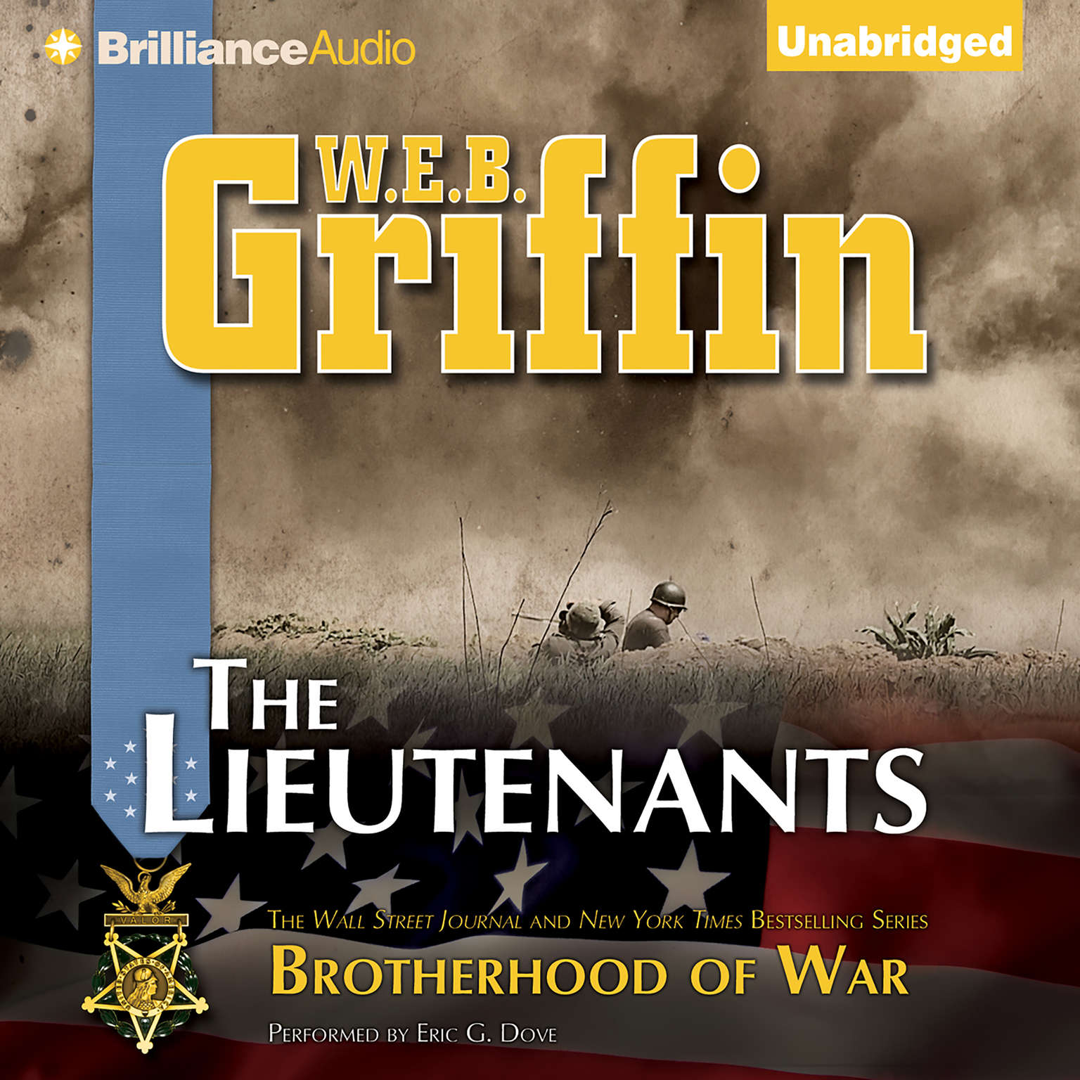 Printable The Lieutenants Audiobook Cover Art