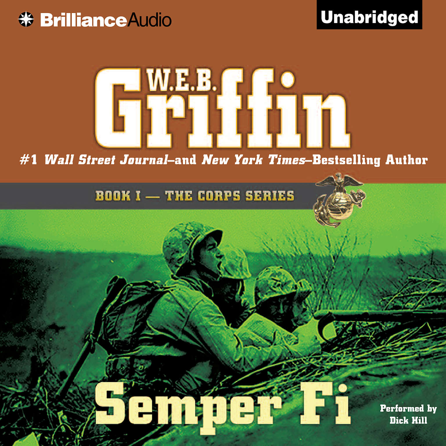 Printable Semper Fi Audiobook Cover Art