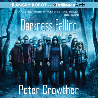 Darkness Falling Audiobook, by Peter Crowther