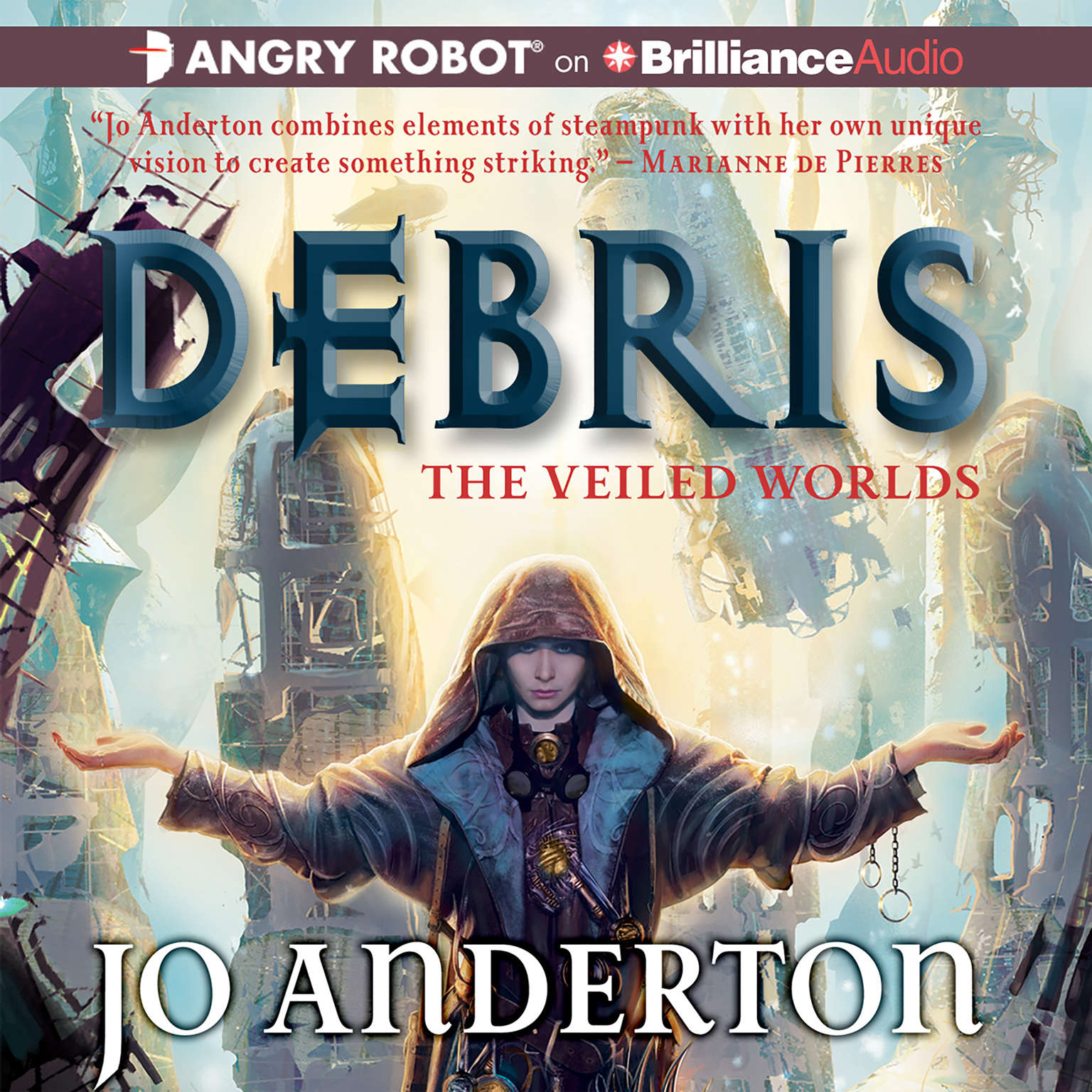 Printable Debris Audiobook Cover Art