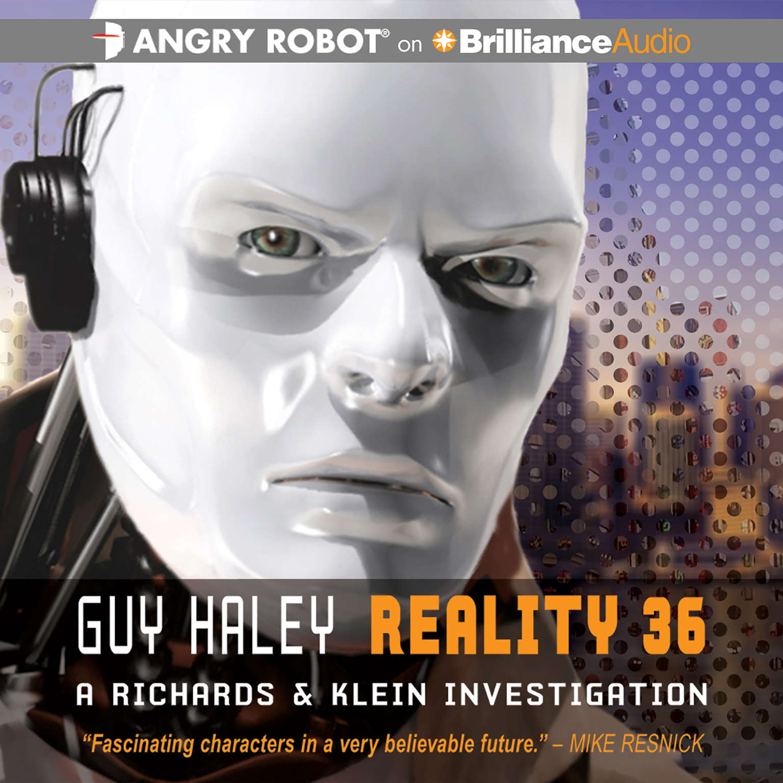Printable Reality 36 Audiobook Cover Art