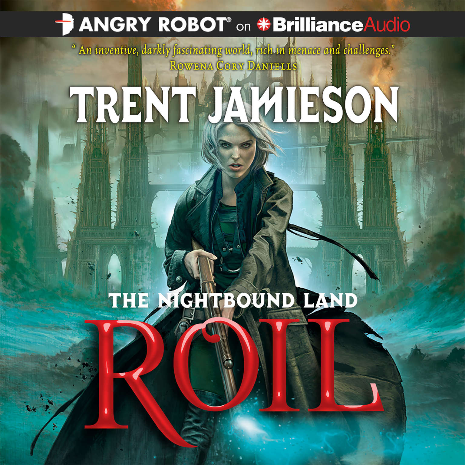 Printable Roil Audiobook Cover Art