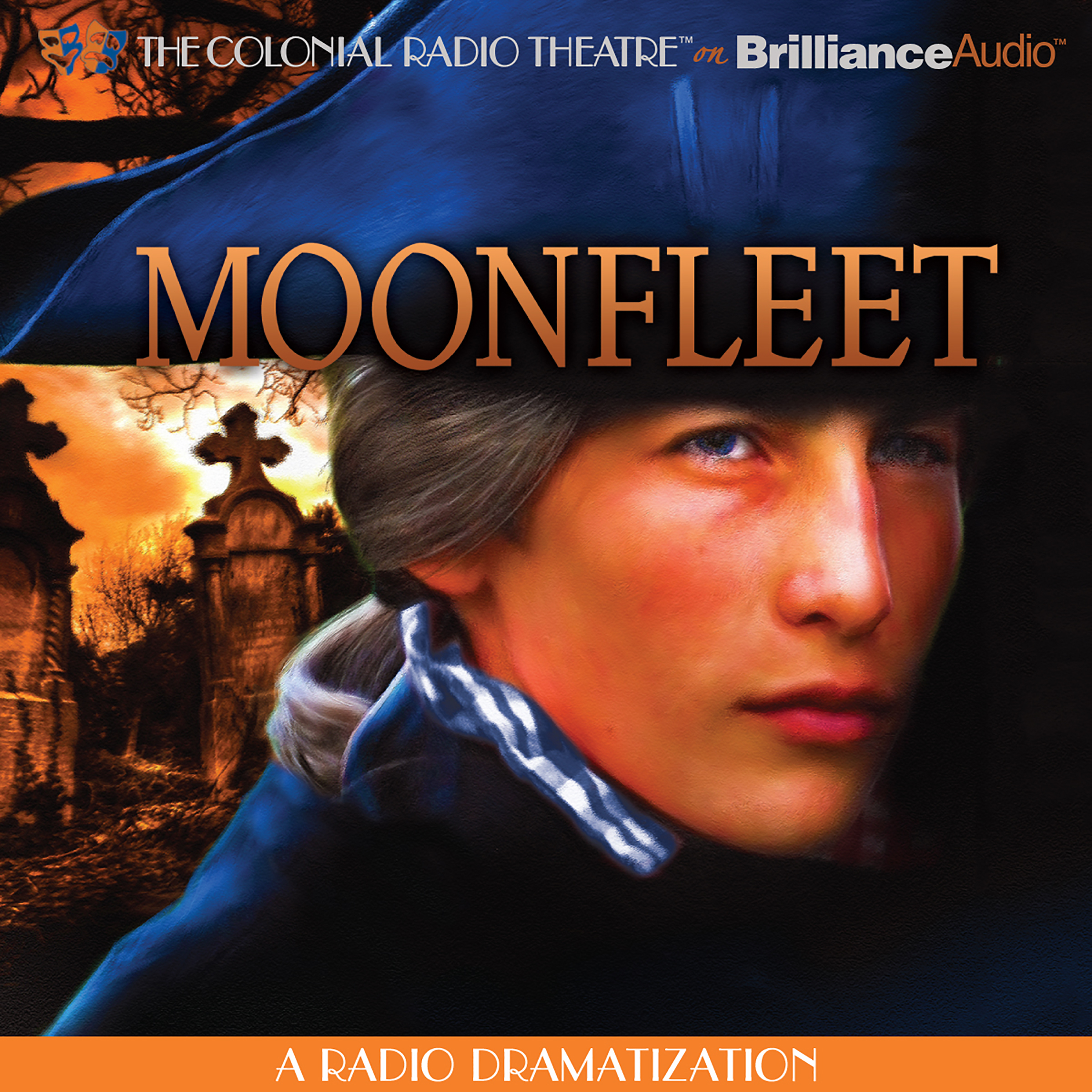 Printable Moonfleet: A Radio Dramatization Audiobook Cover Art