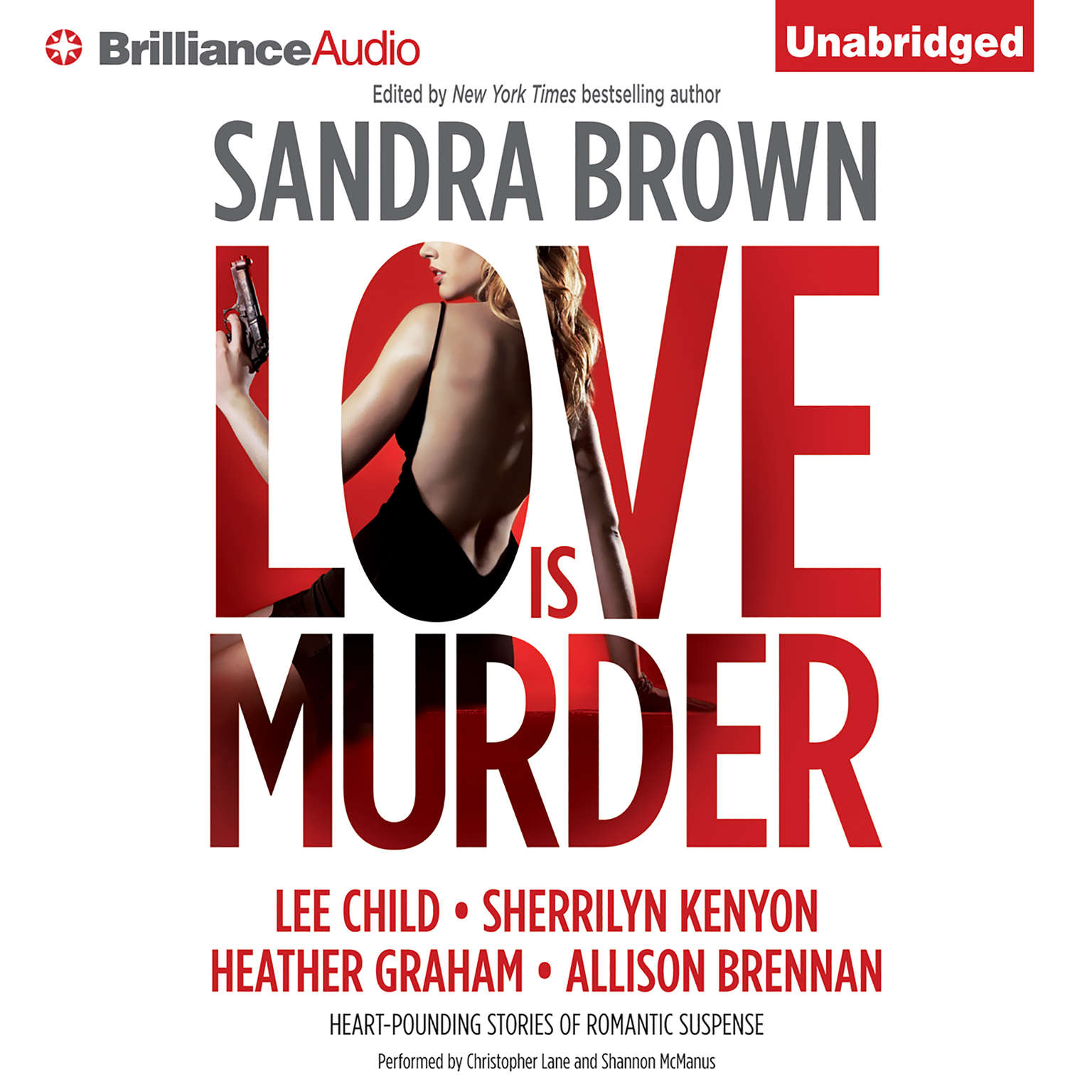 Printable Love Is Murder Audiobook Cover Art