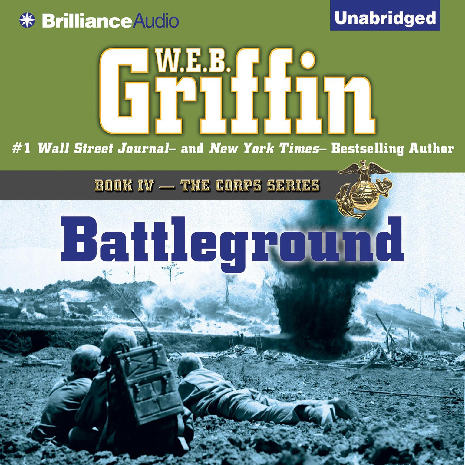Printable Battleground Audiobook Cover Art