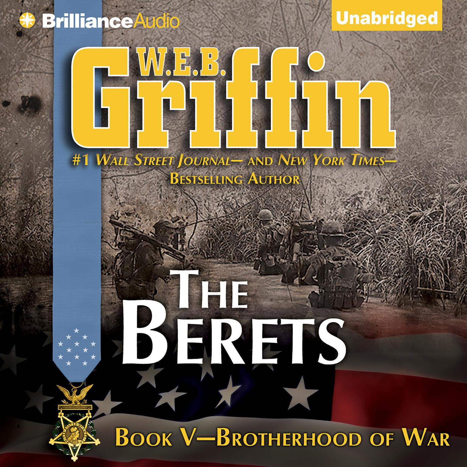 Printable The Berets Audiobook Cover Art