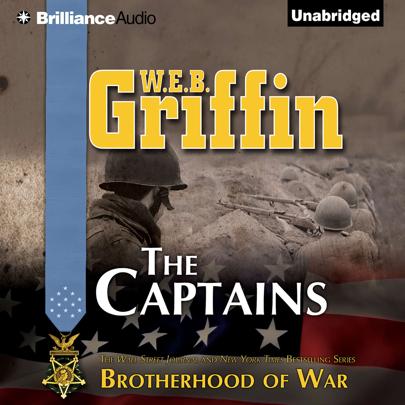 Printable The Captains Audiobook Cover Art