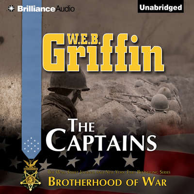 The Captains Audiobook, by W. E. B. Griffin