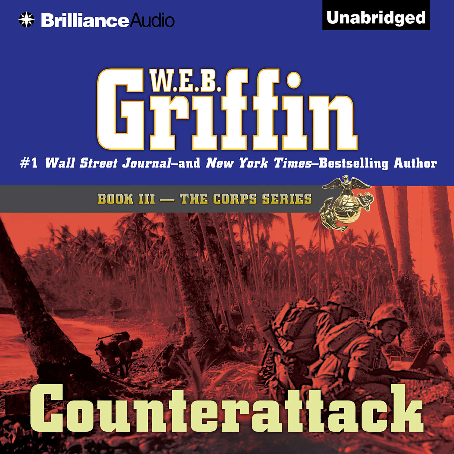 Printable Counterattack Audiobook Cover Art