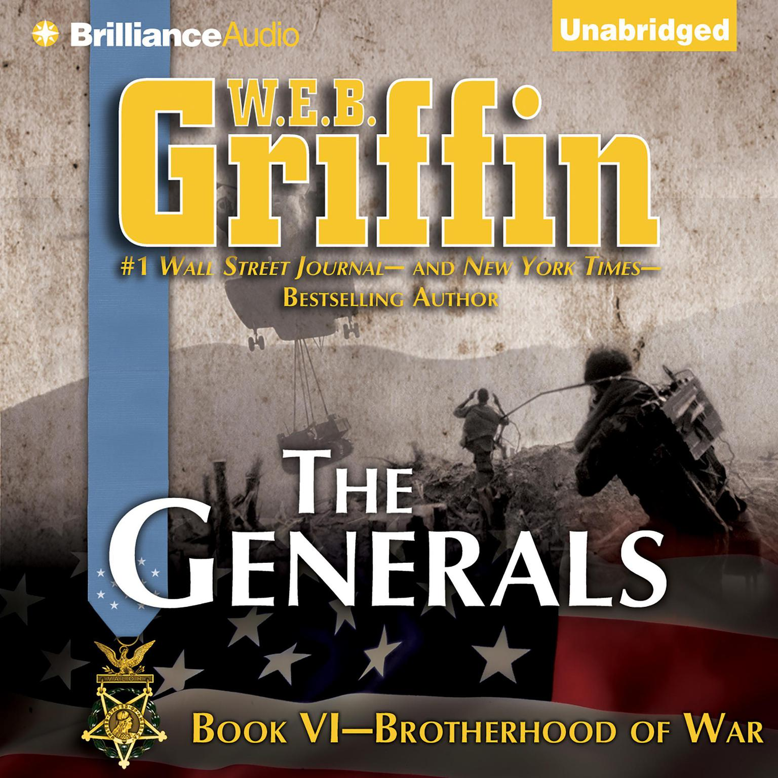 Printable The Generals Audiobook Cover Art