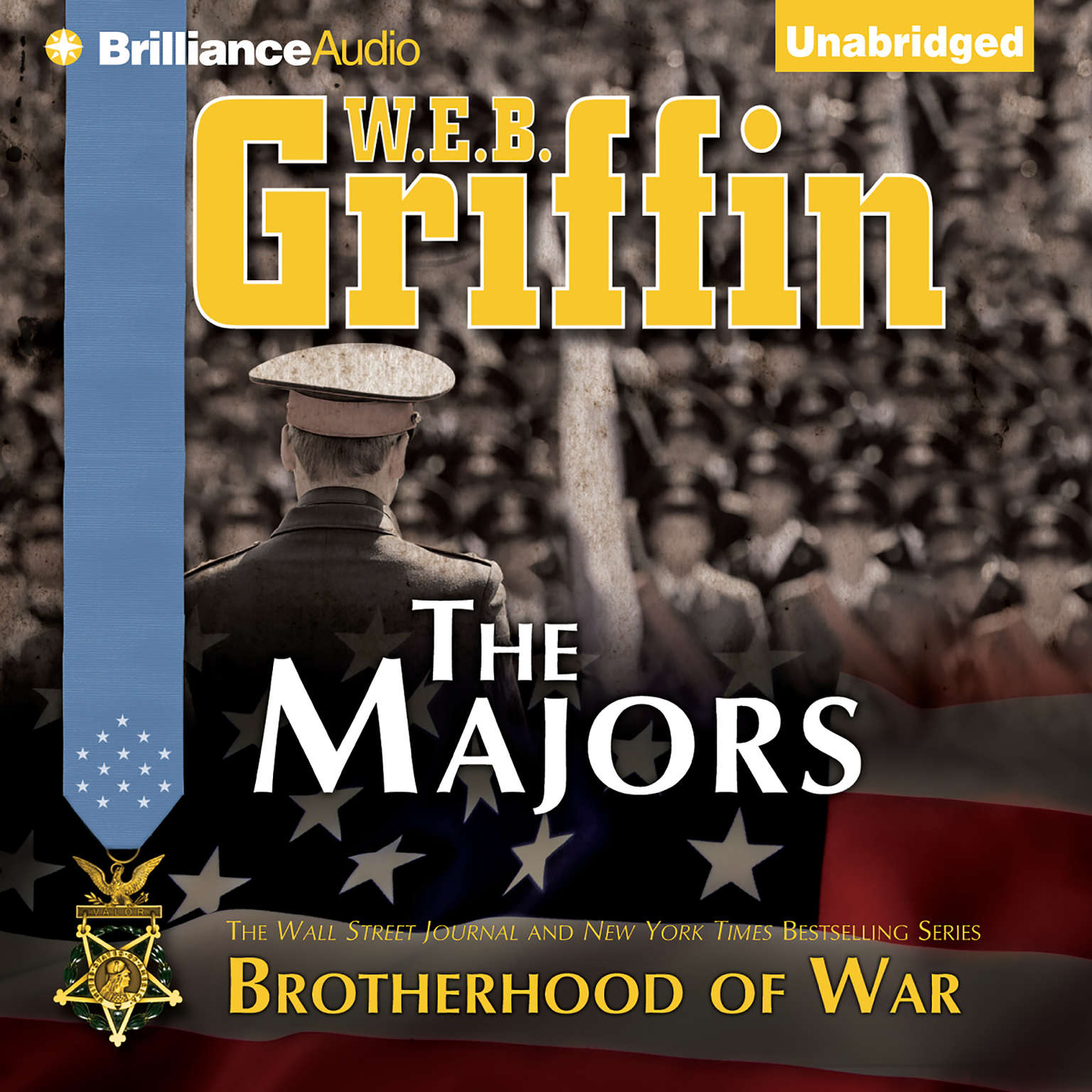 Printable The Majors Audiobook Cover Art