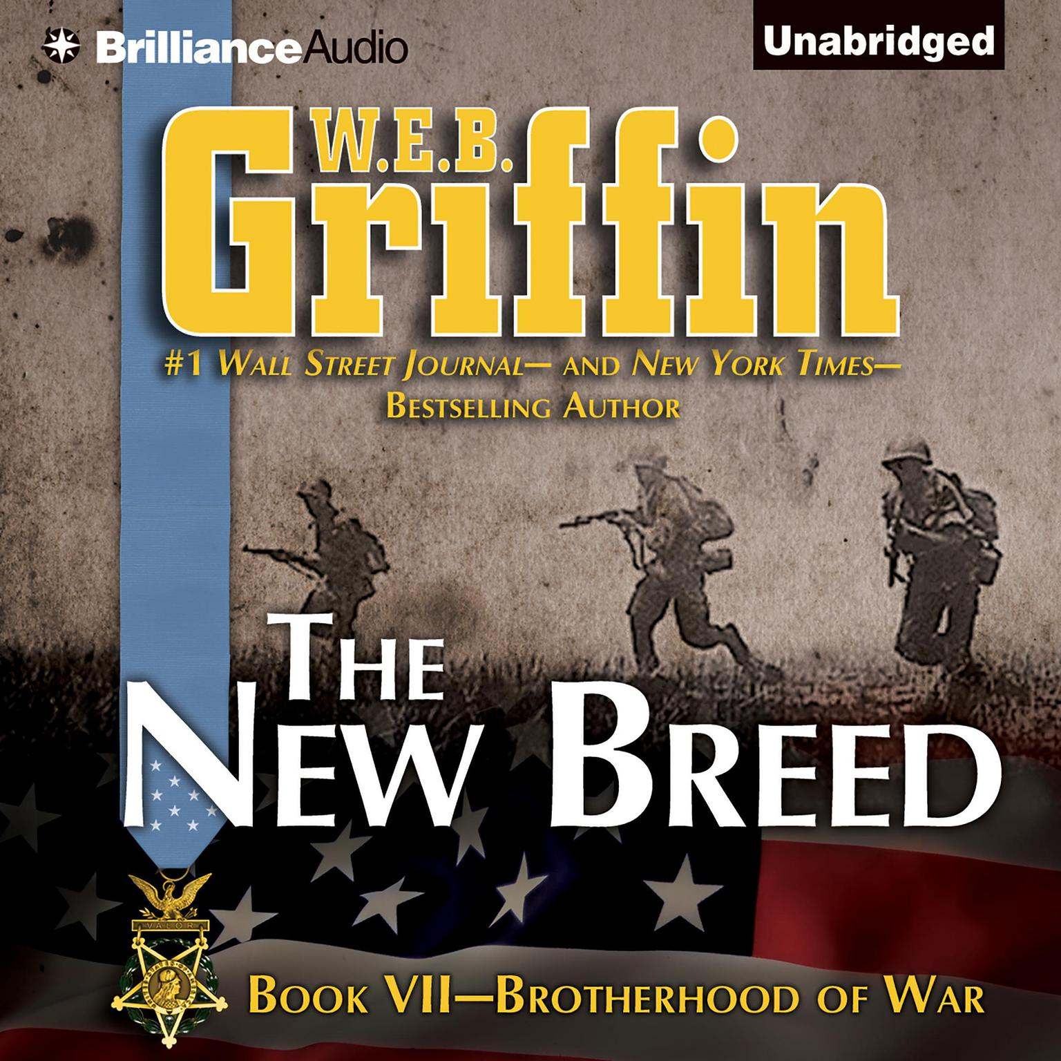 Printable The New Breed Audiobook Cover Art