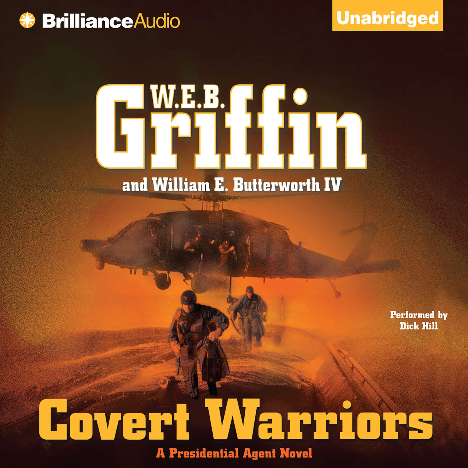 Printable Covert Warriors Audiobook Cover Art