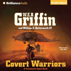 Covert Warriors Audiobook, by W. E. B. Griffin, William E. Butterworth